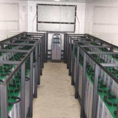 600KWh de baterías de plomo - Nave aislada