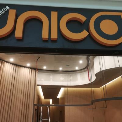 Proyecto terminado en el C. Comercial Shoping Algar e en la Ciudad portuguesa de Faro de la firma Centros UNICOS