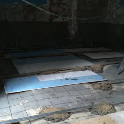 suelo insonorizado     maestras