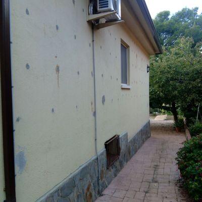 Preparación de pared / superficie a trabajar