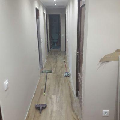 Reforma de pasillo en Lugones