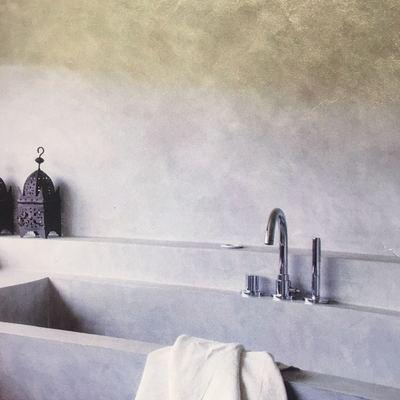 Microcemento en paredes,suelo y pared