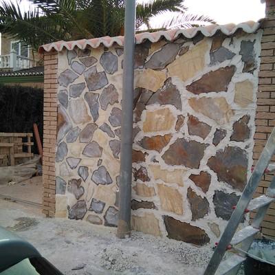 Rejuntado la piedra
