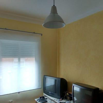 Atmosfera con paredes en liso