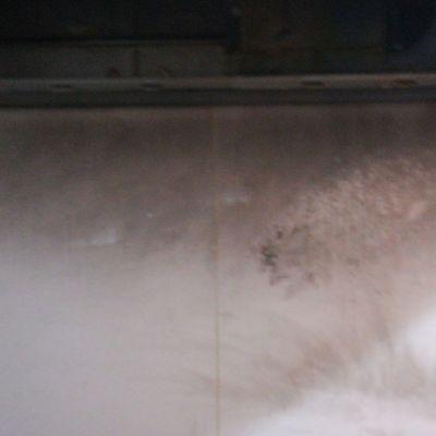 Limpieza de siniestro por incendio en la cocina de una casa adosada