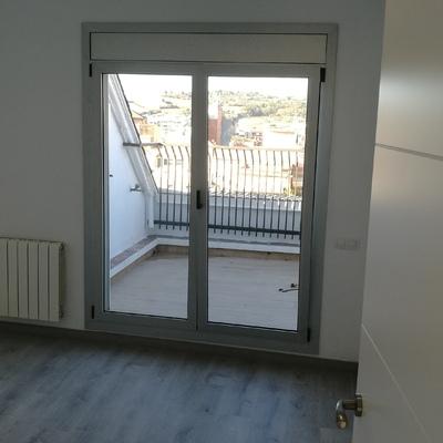 Colocación de balconera aluminio