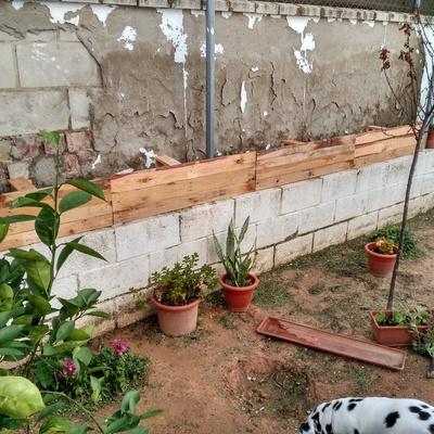 Jardinera de patio