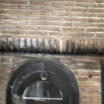 fuego en restaurante