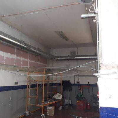 Extracción y ventilación forzada  por conductos