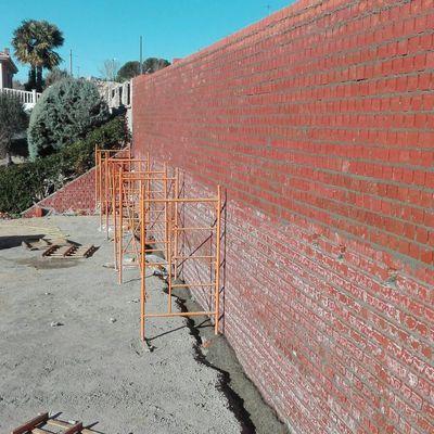 Muros de convenciones de tierra