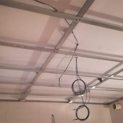 estructura metalica para techos de pladur
