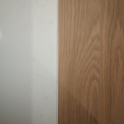 madera con porcelánico