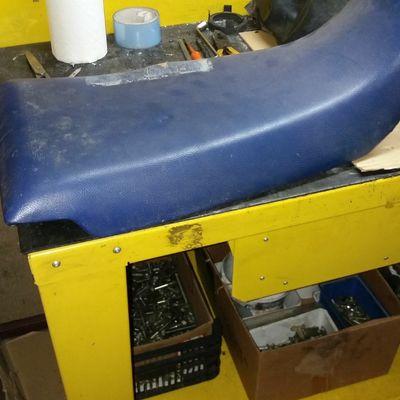 asiento moto restaurar
