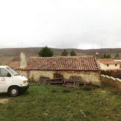 tejado viejo a retirar