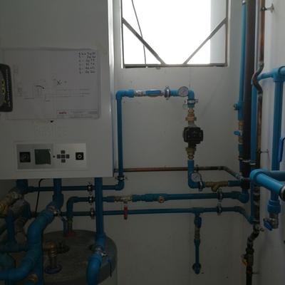 Calefacción y solar sanitaria