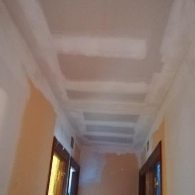 techo listo para pintar
