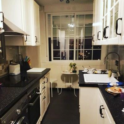 cocina de estilo nórdica
