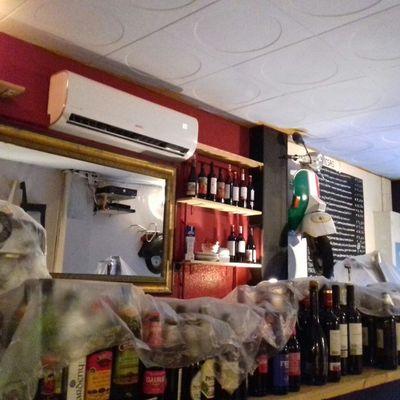 instalacion de aire acondicionado y pintura general