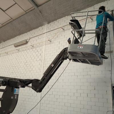 Instalación nave taller carrocería