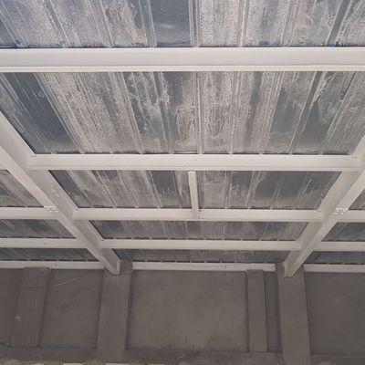Protección de la estructura metálica con pintura intumescente