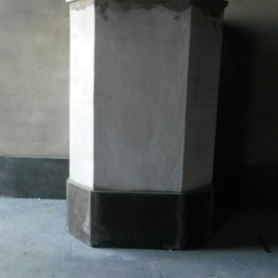 Altar de la Virgen del Rocío en el Velario del Rocio