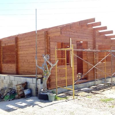Montaje casa de madera Soladd Mallorca