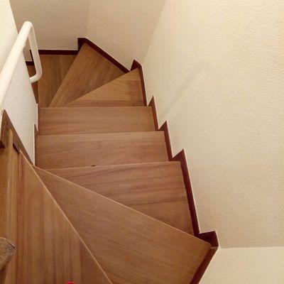 Escaleras de Madera Jatoba