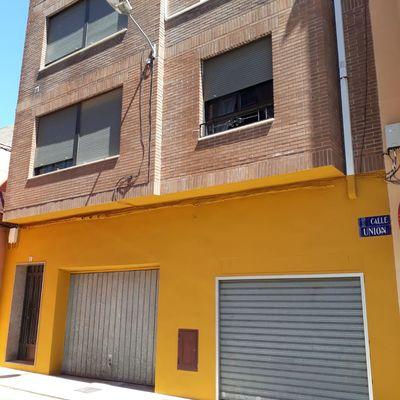 Pintura en fachada.