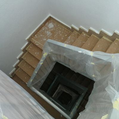 Pintado de escalera comuniraria