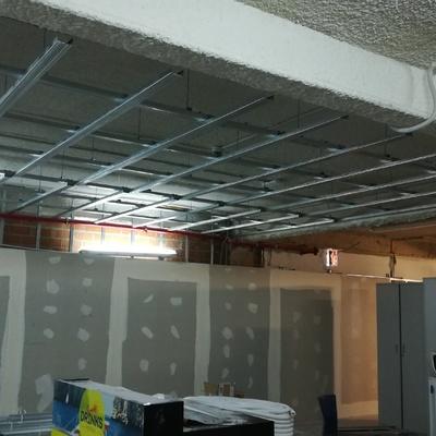 Falso techo + trasdosados