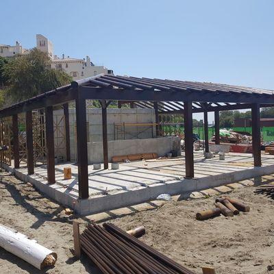 Construcción de chiringuito Estepona