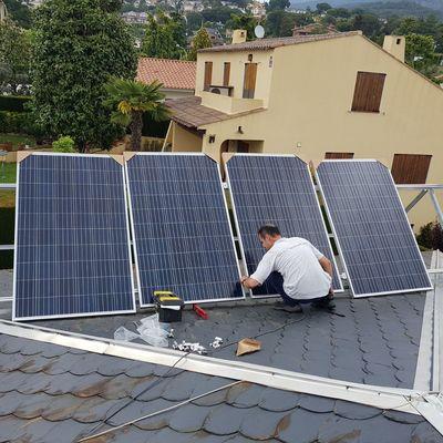 Instalación de energía solar Fotovoltaica para Autoconsumo de 1.5 kW en zona 3 con inyección 0. Caldes de Montbui