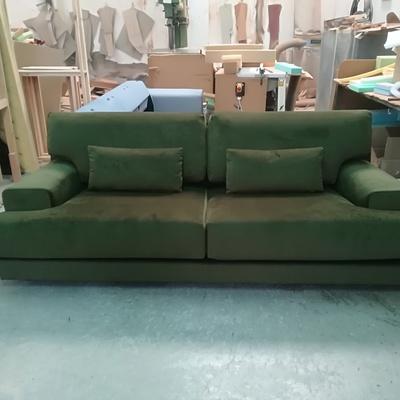 Sofá de 3 plazas retapizado