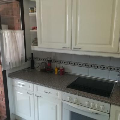 Limpiezas de cocina a fondo muebles por dentro y por fuera vitro. Horno y microondas