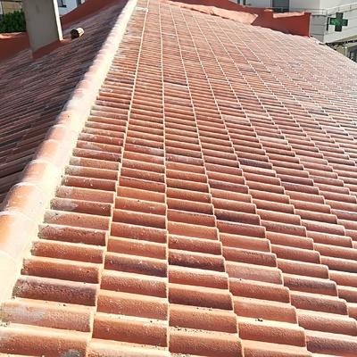 Reforma de tejado en Epila.