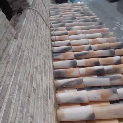 Cubierta teja árabe de Borja