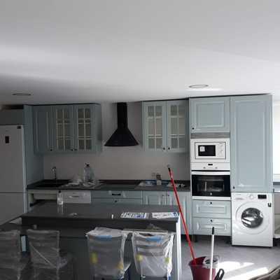 Cocina estilo americano | Piso Gijón