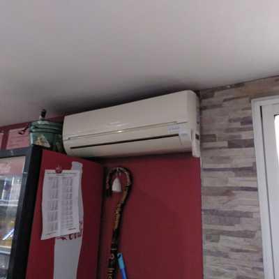 Aire acondicionado bar