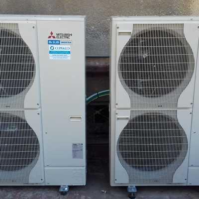 instalacion de aire exterior