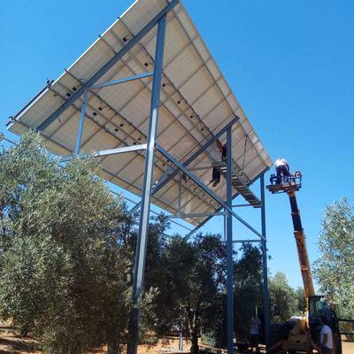 Sistema de bombeo solar - Olivares  de Sevilla