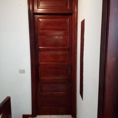 Color original de la puerta