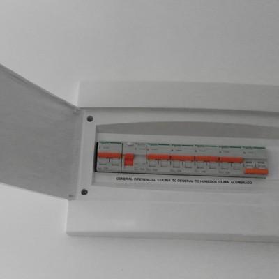 Colocación Panel de control de luces