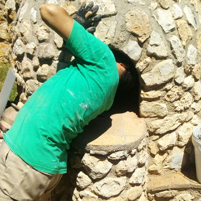 Horno Moruno de Piedra y Refractario interior