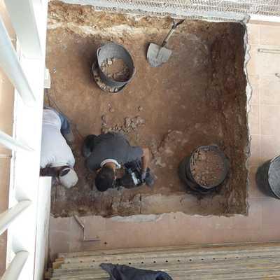 Obra civil montaje de torre de ascensor -av. montserrat, 38, torredembarra-