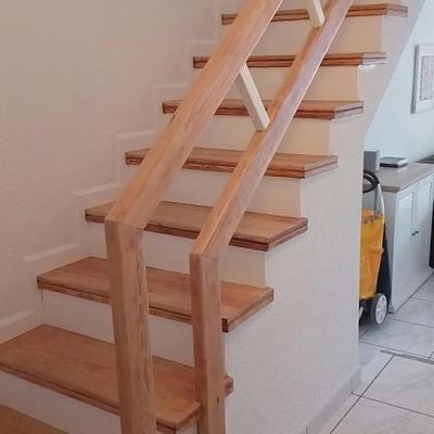 Restauración de la escalera