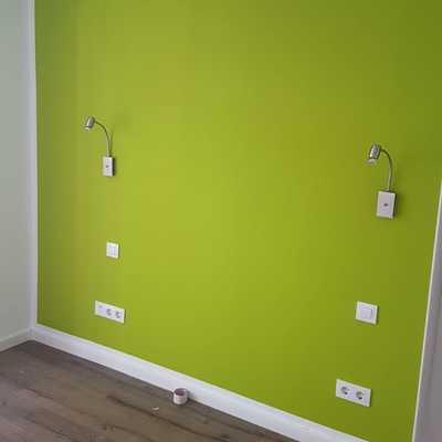 Pared dormitorio