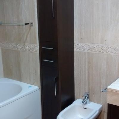 mueble columna baño