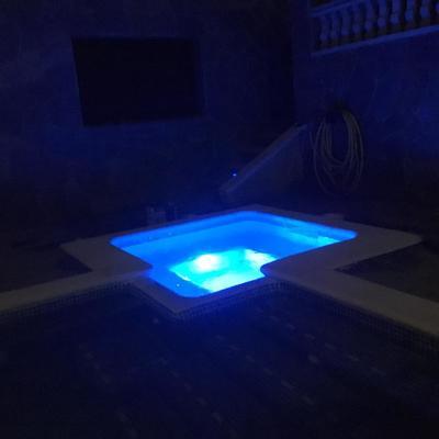 SPA con luz led RGB