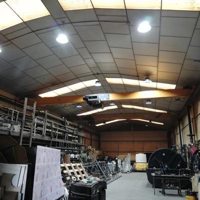 Instalación de campanas LED PRO