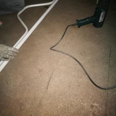Curvado de tubo en obra
